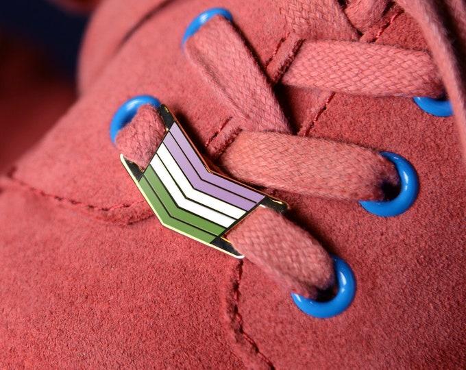 The Genderqueer Shoelace Locks
