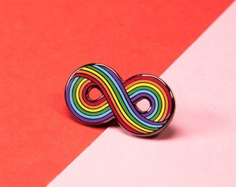 The Infinitely Rainbow Pin