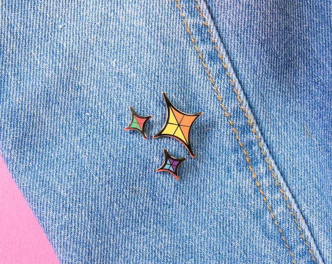 The Rainbow Sparkle Pin