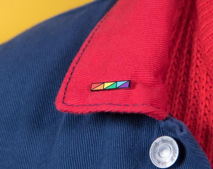 The Rainbow Bar Enamel Pin