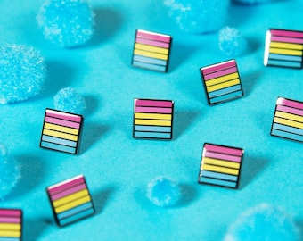 The Mini Pansexual Flag Pin
