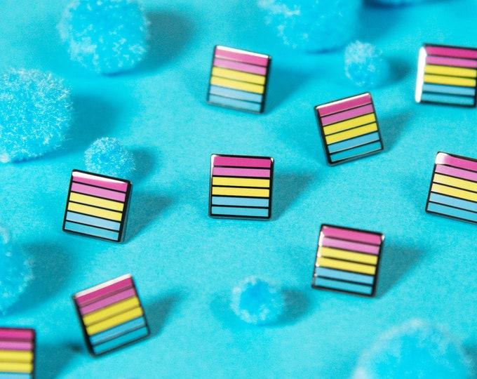The Mini Pansexual Flag Pin