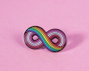 The Infinitely Lesbian Enamel Pin