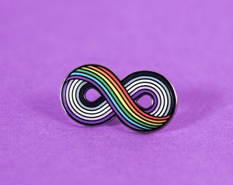 The Infinitely Asexual Enamel Pin