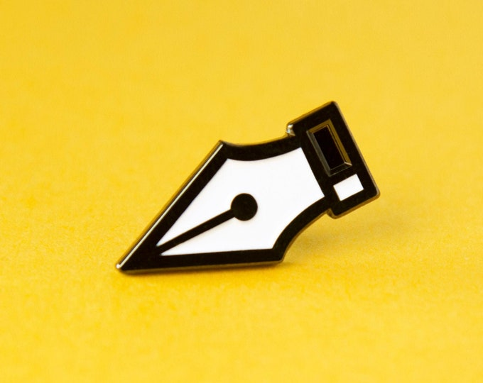 The Pen Tool Enamel Pin