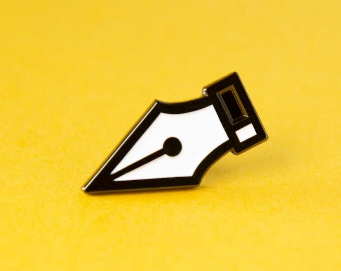 The Pen Tool Enamel Pin