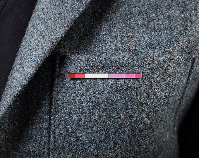 The Lesbian Rod Enamel Pin