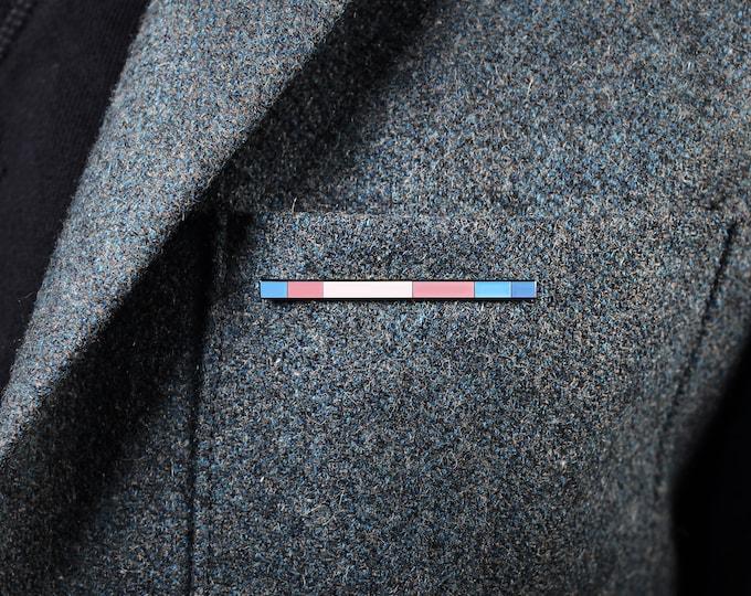 The Transgender Rod Enamel Pin