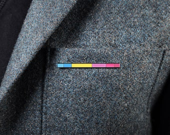 The Pansexual Rod Enamel Pin