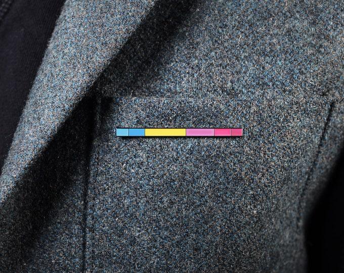 The Pansexual Rod Enamel Pin