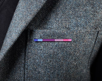 The Bisexual Rod Enamel Pin