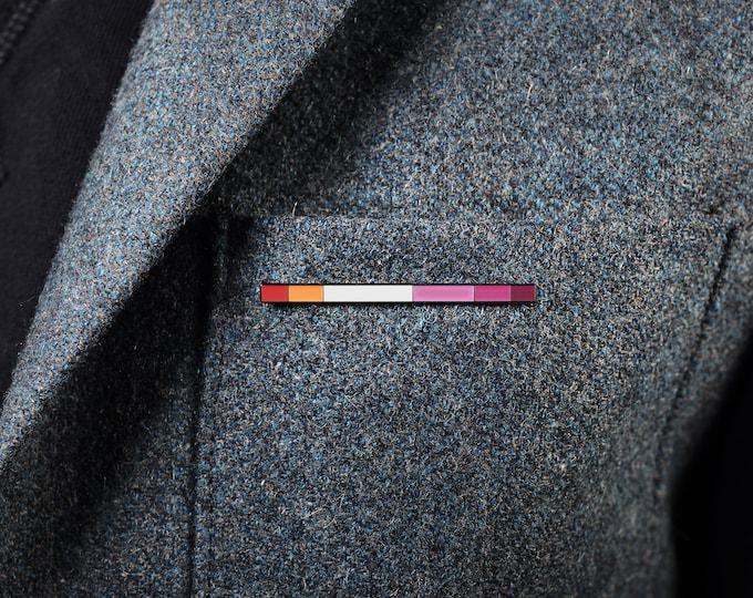 The community Lesbian Rod Enamel Pin