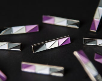 The Asexual Bar Enamel Pin
