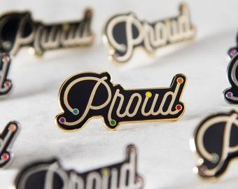 The Proud Enamel Pin