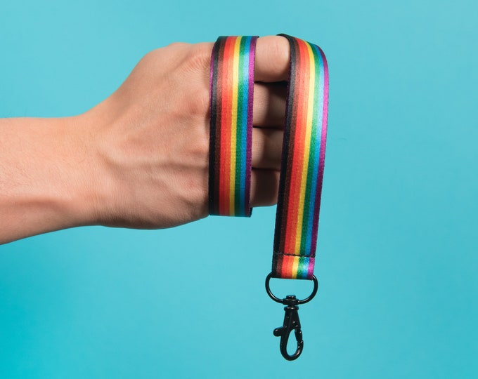 The Reversible Inclusive Rainbow Lanyard (Recycled PET Plastic)
