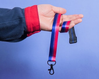 The Bisexual Pride Lanyard