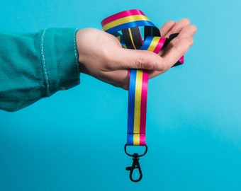 The Pansexual Pride Lanyard