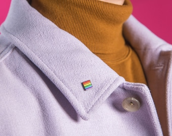The Mini Rainbow Flag Pin