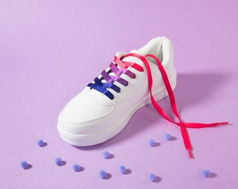 Bisexual Pride Shoelaces