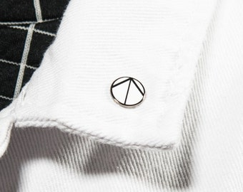 "The ""North Arrow Symbol"" Enamel Pin"