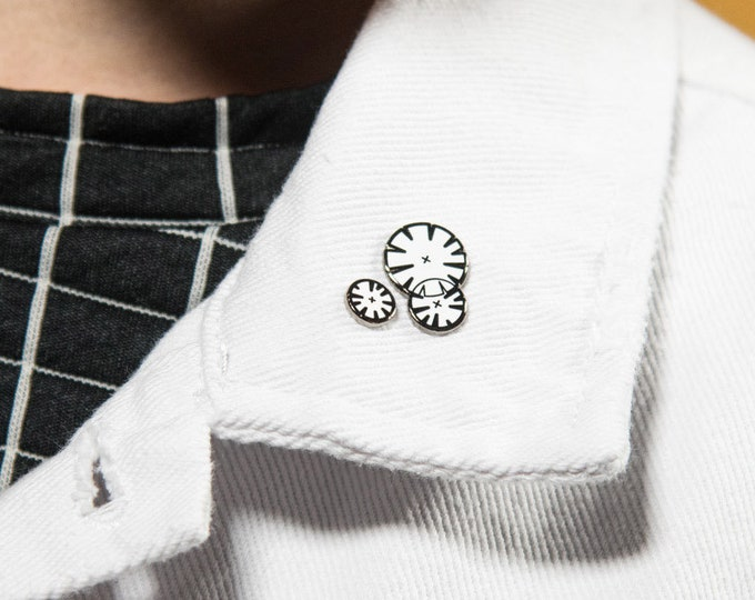 "The ""Default Tree Symbols in Plan"" Enamel Pin"