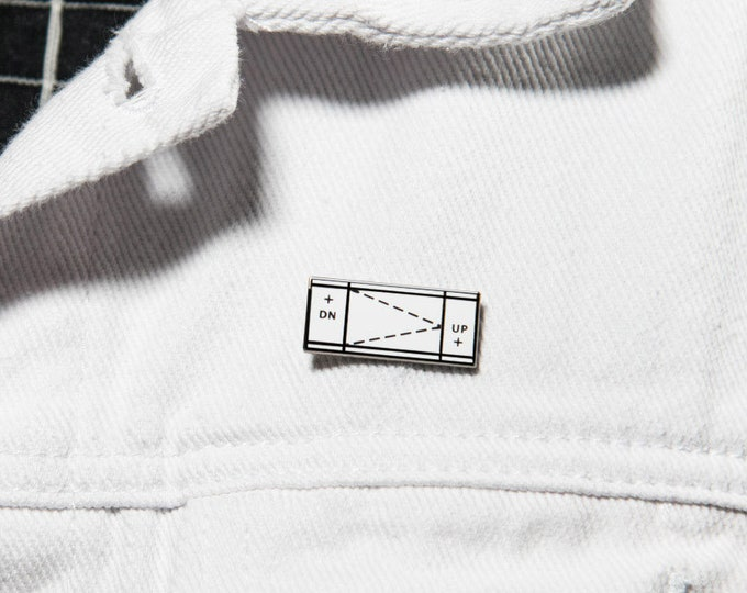 "The ""Ramp in Plan"" Enamel Pin"