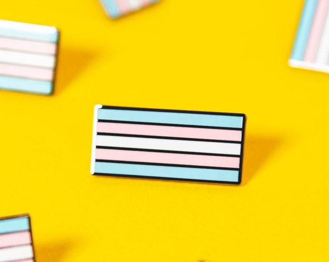 The Transgender Flag Enamel Pin