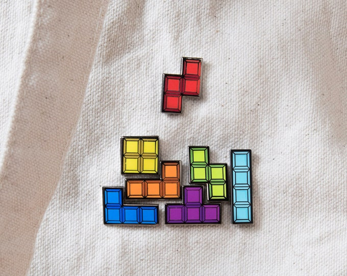 Tetris Block Pins