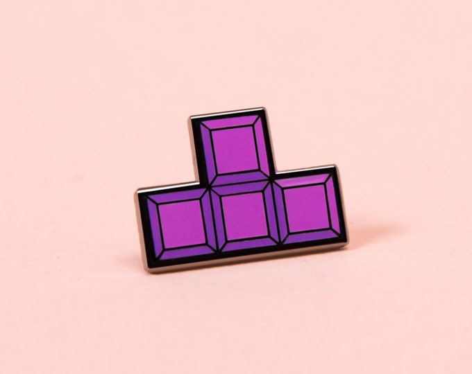 The Tetris 'T' Pin