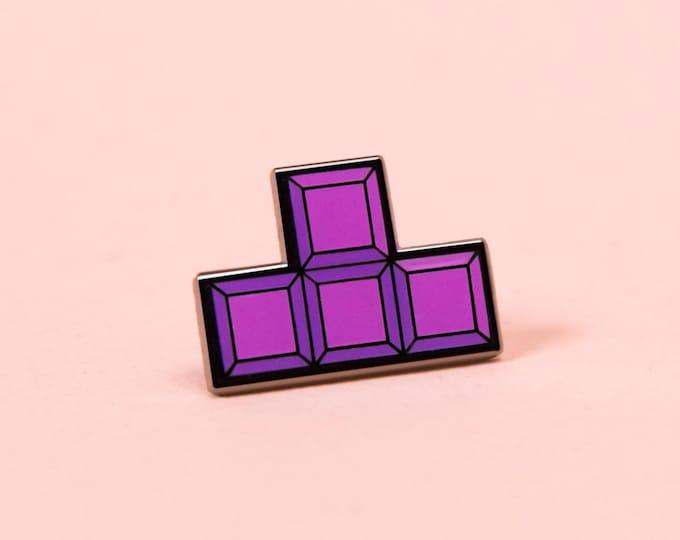 The Tetris 'T' Pin