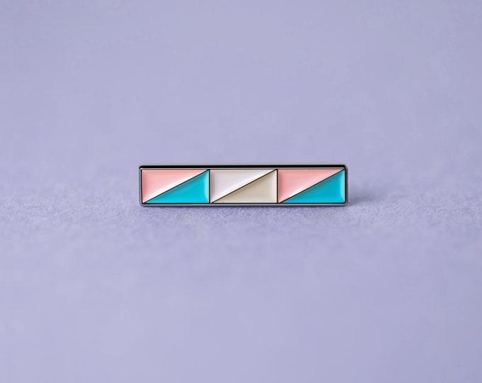 The Transgender Bar Enamel Pin