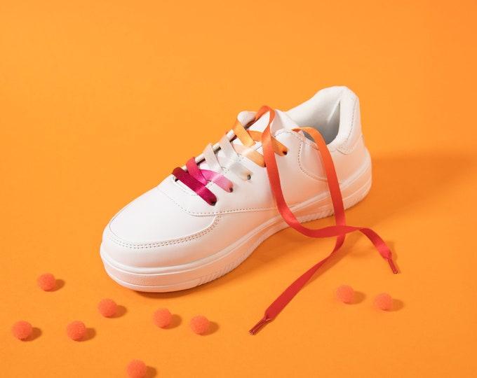 Community Lesbian Pride Shoelaces