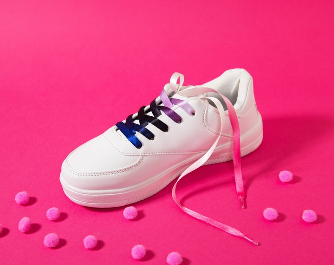 Genderfluid Pride Shoelaces