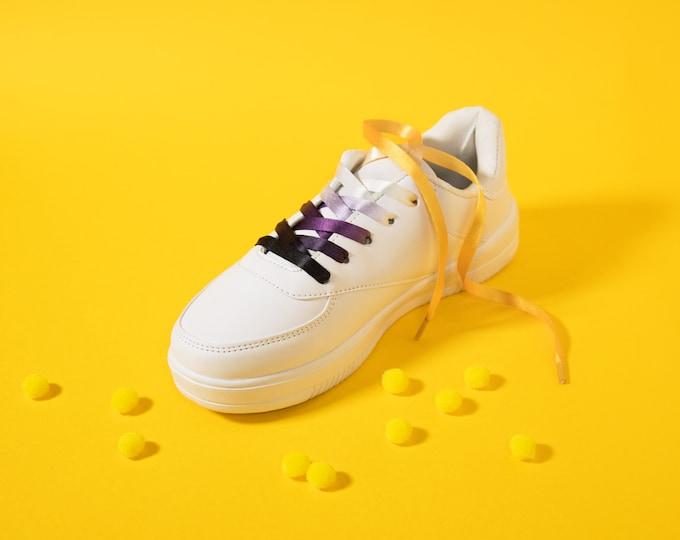 Non-Binary Pride Shoelaces