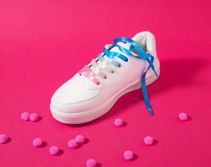 Transgender Pride Shoelaces