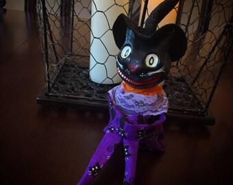 Purple Cat Doll