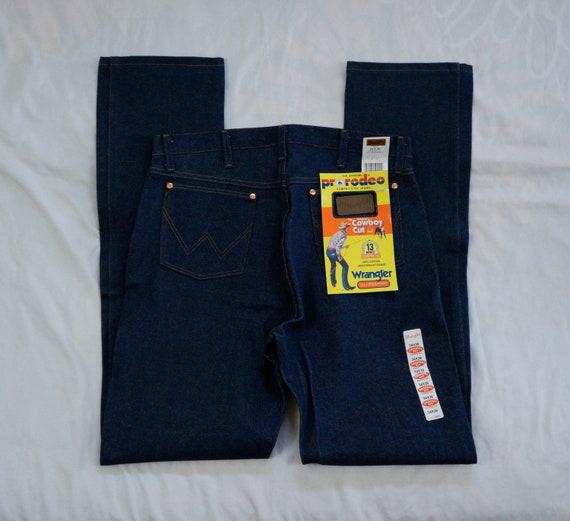 e4290516 Vintage 80's DS Wrangler Pro Rodeo Pro Competiton Jeans | Etsy