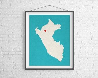 Customizable Map Art