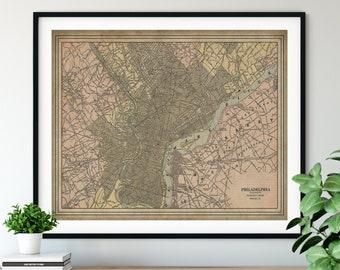 Vintage Map Prints