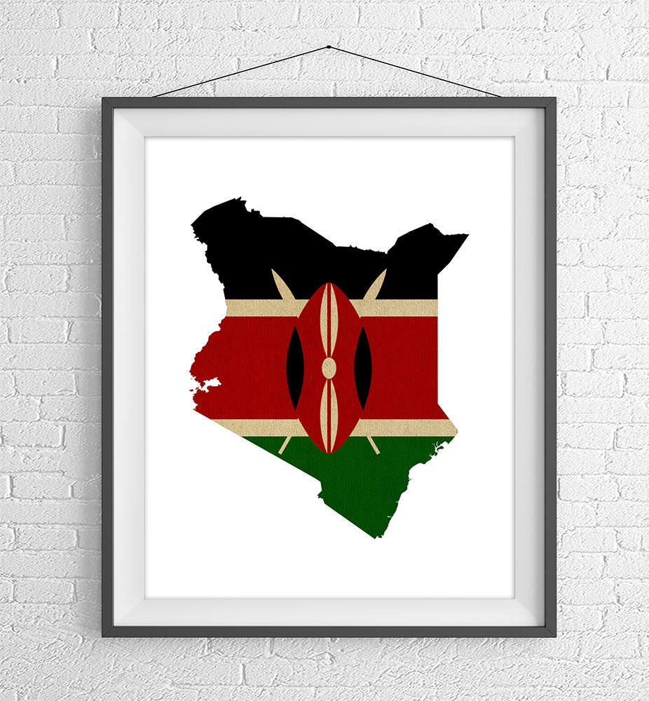Kenya Flag Map Print, Kenyan Flag Poster, Kenya Map, Kenya ... on kenya police map, kenya road map, kenya citizen-news, kenya on map, uganda map, kenya men, kenya ladies, kenya native animals, kenya media gossip, kenya map map, kenya ethnic groups map, kenya people maasai, kenya globe map, ghana map, kenya heart map, kenya country map,