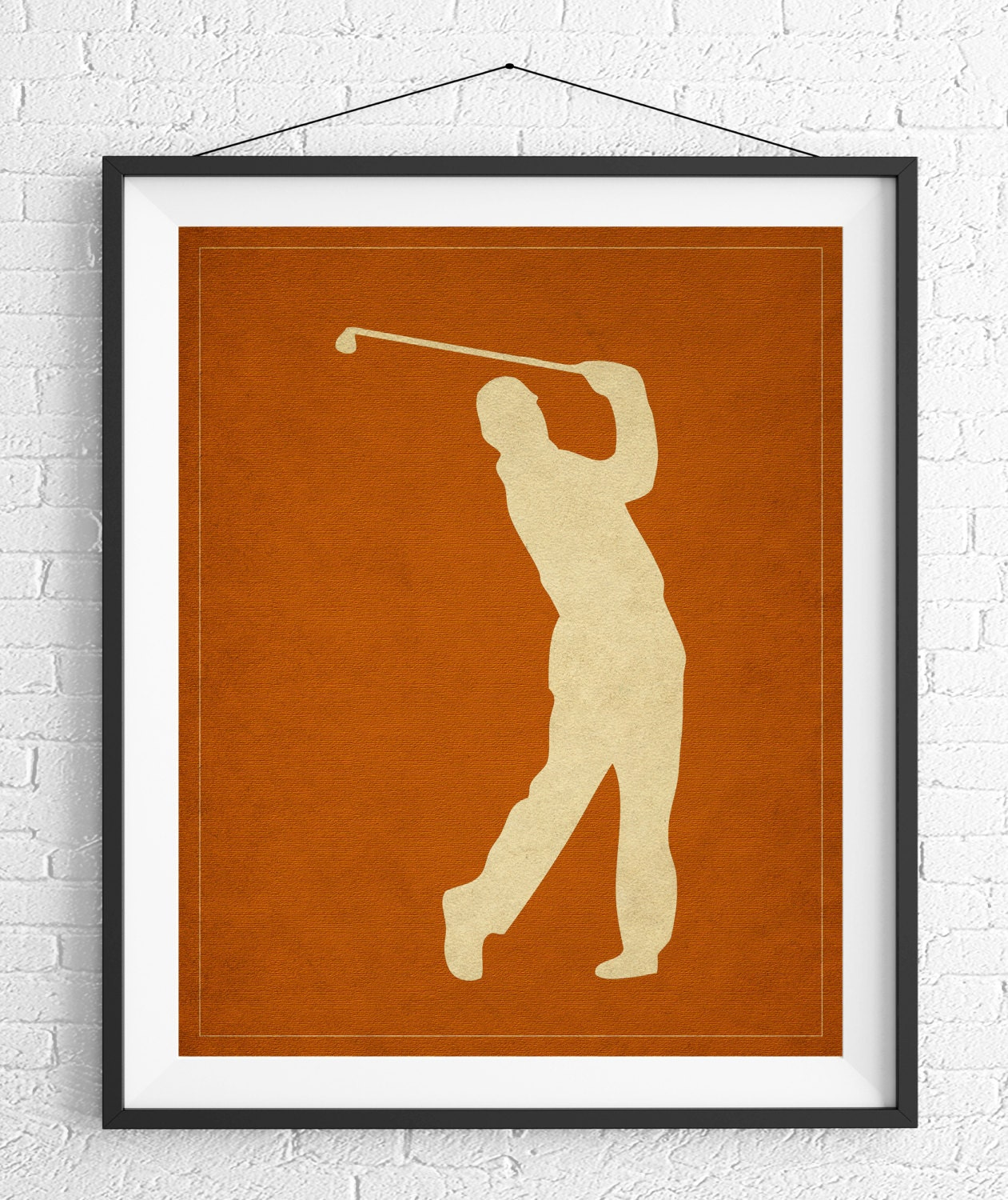 Golf Art, Golf Gifts For Men, Golf Decor, Golf Print, Gift For Golfers,  Office Wall Art, Man Cave Art, Sports Wall Decor, Gifts For Him, Men
