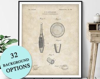 Juggling Club Patent Print - Customizable Blueprint Plan, Jugglers Pin Print, Carnival Stunt Performer Poster, Circus Act Art, Juggling Gift