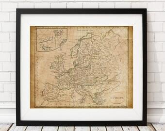 Vintage Map Art