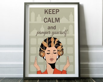 Quote Print, Wall Art, Keep Calm Print, Quote Wall Art, Beauty Print, Quote Poster, Prints, Pop Art Print, Modern Print, Wall Art Print, Art