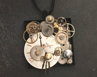 Genuine Watch Parts Necklace