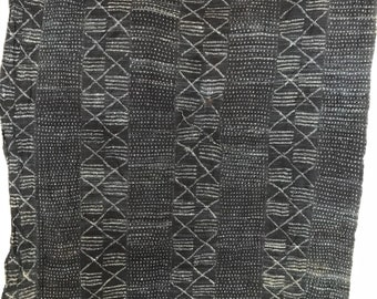 Mali indigo mudcloth