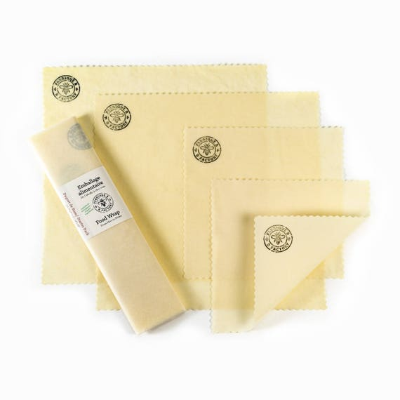 Organic Beeswax Food Wrap - Starter Pack