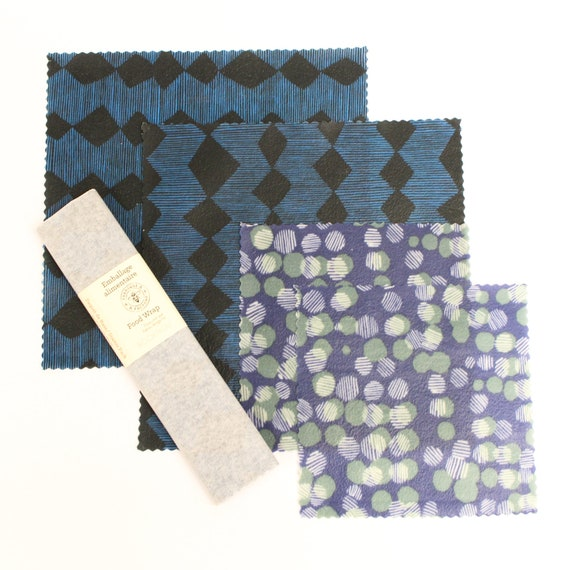 Beeswax food wrap - Limited Edition Bookhou Starter Pack