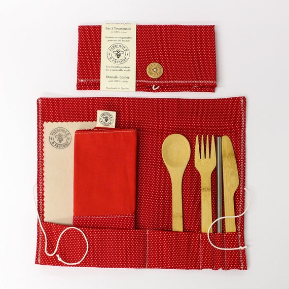 Utensil Holder + Napkin Set