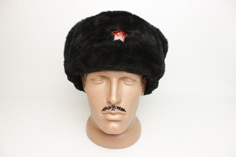 b4bb8499 Vintage Soviet Ushanka RKKA winter Russian warm military hat | Etsy